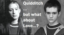 Cover: Quidditch! ...but what about love?