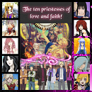 Cover: The ten priestesses of love and faith!