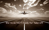 Cover von: We're so NOT ready for take-off