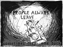Cover: People always leave