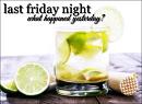 Cover: Last Friday Night