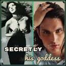 Cover: Secretly his goddess