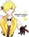 Cover: Gravity Falls! Bills Rückkehr