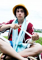 Cosplay-Cover: Monkey D. Luffy [Alabasta]