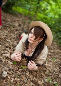 Cosplay-Cover: Indira 'Jones' Weis [Dschungelcamp 2011]