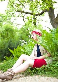 Cosplay-Cover: Sarah 'Dingens' Knappik [Das Dschungelcamp 2011]
