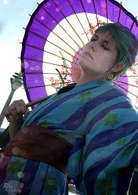 Cosplay-Cover: Roronoa Zoro (Yukata)