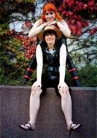 Cosplay-Cover: Monkey D. Luffy   フィルムゴルド・決戦服