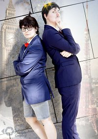 Cosplay-Cover: Kogoro Mouri