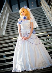 Cosplay-Cover: Charlotte Dunois [Wedding]