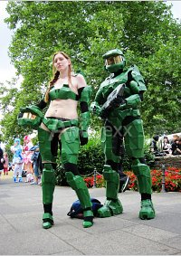 Cosplay-Cover: Miss Master Chief