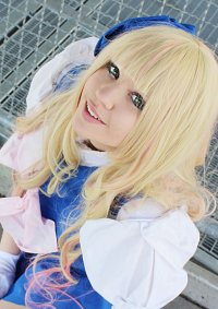Cosplay-Cover: Sheryl Nome [[Blue Stewardess]]