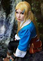 Cosplay-Cover: Prinzessin Zelda [[BOTW]]