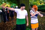 Cosplay-Cover: Nami (Buggy Arc)