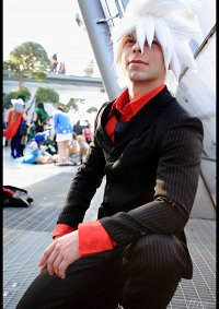 Cosplay-Cover: Soul Eater Evans (Black Blood)