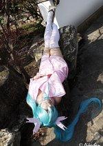Cosplay-Cover: Hatsune Miku ⌊ Project Diva: Sakura Kimono ⌉