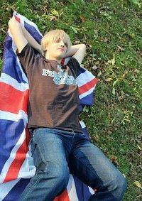Cosplay-Cover: England(Alltagskleidung)