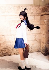 Cosplay-Cover: Maya Fey » Schooluniform