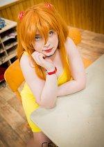 Cosplay-Cover: Asuka ( Gelbes Kleid )