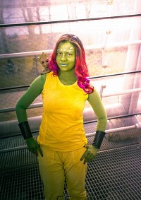 Cosplay-Cover: Gamora Gefängnis Outfit