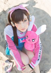 Cosplay-Cover: D.Va » swimsuit