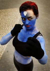 Cosplay-Cover: Mystique (Comic-Version)