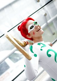 Cosplay-Cover: Glitter Riddler