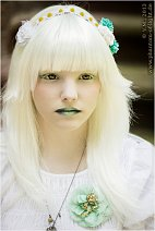Cosplay-Cover: White with green Dolly