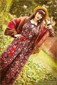 Cosplay-Cover: Dolly Kei ~ Flower Chiffon Dress ~ März 2014