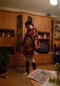 Cosplay-Cover: Tsunayoshi Sawada - Fanart Yukata Style - Matryosh