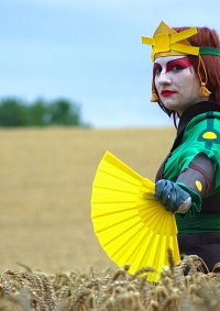 Cosplay-Cover: Suki [Kyoshi Warrior Version]