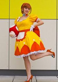 Cosplay-Cover: Prinzessin Daisy [Vintage Super Mario Bros]