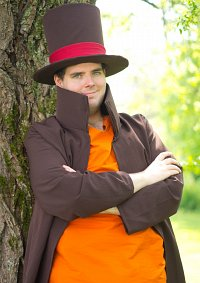 Cosplay-Cover: Prof. Hershel Layton