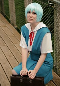 Cosplay-Cover: Ayanami Rei (School uniform)