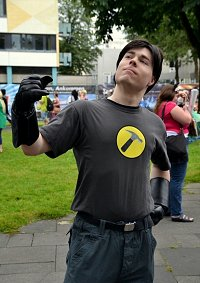 Cosplay-Cover: Captain Hammer (Dr. Horrible's Sing-Along Blog)