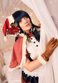 Cosplay-Cover: Yoshika Tsushima {Christmas}