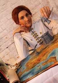 Cosplay-Cover: Inquisitor Trevelyan (Skyhold)