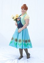 Cosplay-Cover: Anna von Arendelle Party Fever