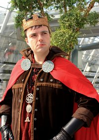 Cosplay-Cover: Uther Pendragon (BBC Merlin)