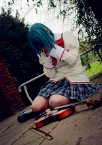 Cosplay-Cover: Sayaka Miki (school uniform)
