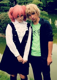 Cosplay-Cover: Karuta (Schuluniform)