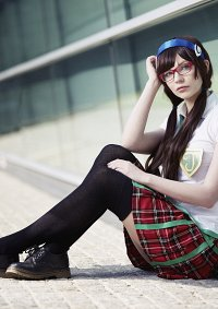 Cosplay-Cover: Mari Makinami » schooluniform