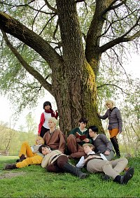 Cosplay-Cover: Bertholdt Fubar [Trainee Camp]