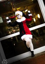 Cosplay-Cover: Harley Quinn [ChristmasFanart]