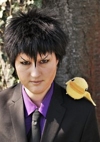 Cosplay-Cover: Kyoya Hibari (adulto)