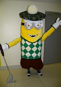 Cosplay-Cover: Kevin (Minion) Golfer