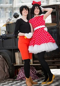 Cosplay-Cover: Minnie Mouse