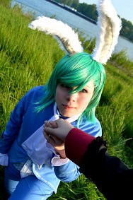Cosplay-Cover: Mikaze Ai [Debut - White Rabbit] | 美風藍