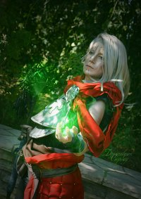 Cosplay-Cover: Inquisitor Felassan Lavellan