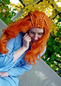 Cosplay-Cover: Sansa Stark (Blue Dress, Season 1: Kings Road)